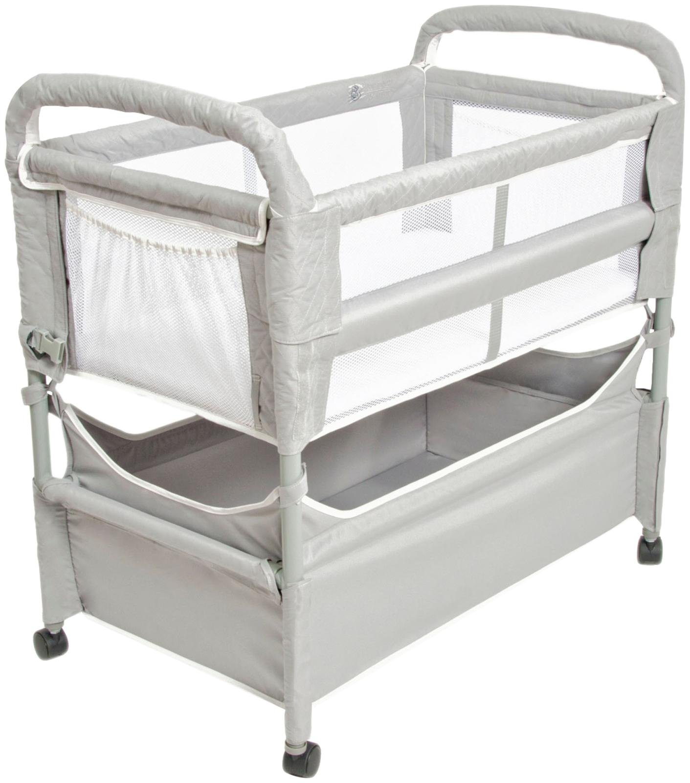 Arms Reach Concepts Inc. Clear-Vue Co-Sleeper, Grey, One Size, 3 Pieces by Arm's Reach