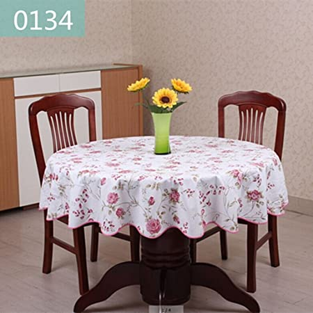 Charmant QWM Extra Large Tablecloth Round Tablecloth, Restaurant PVC Waterproof  Oil Proof Table Cloth