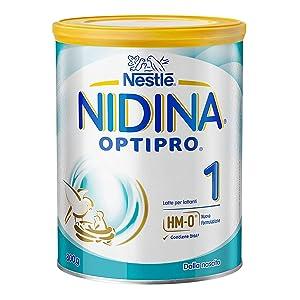 Nestlé Nidina 1 Optipro dalla Nascita, Latte per Lattanti Polvere, 6 Confezioni...