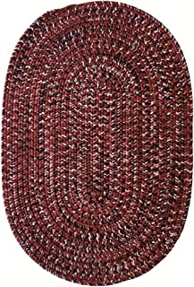 product image for Capel Rugs Team Spirit Area Rug, 5' x 8', Burgundy Black