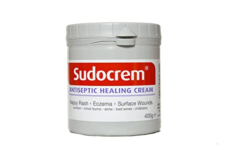 Sudocrem Antiseptic Healing Cream For Nappy Rash Eczema Burns