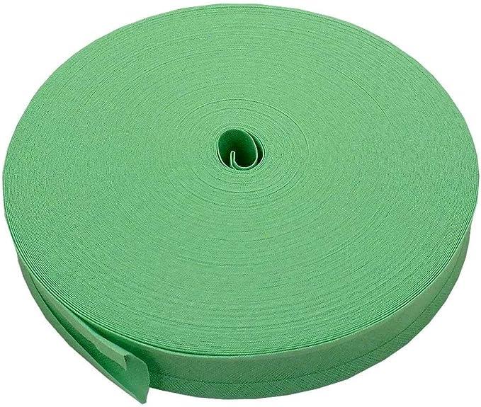 16 mm cinta bies ribete 100% algodón – verde – 5 M: Amazon.es: Hogar