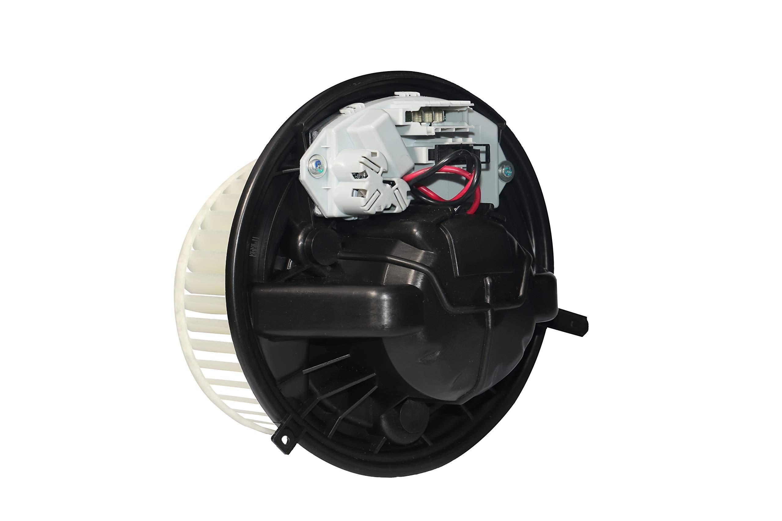 DunGu AC Blower Motor Resistor Kit with Harness Replacements 89019088 973-405 15-81086 22807123 Fits Chevy Silverado Tahoe Suburban Avalanche GMC Sierra Yukon Escalade HVAC Fan Auto Parts