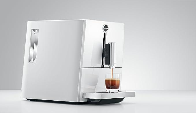 JURA A1 Independiente Máquina espresso Blanco 1,1 L 9 tazas Totalmente automática - Cafetera (Independiente, Máquina espresso, 1,1 L, Molinillo integrado, ...