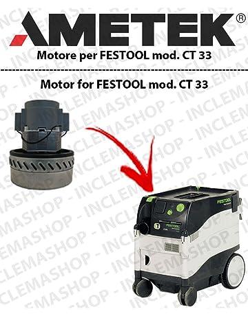 CT 33 Motor aspiración ametek para aspiradora Festool