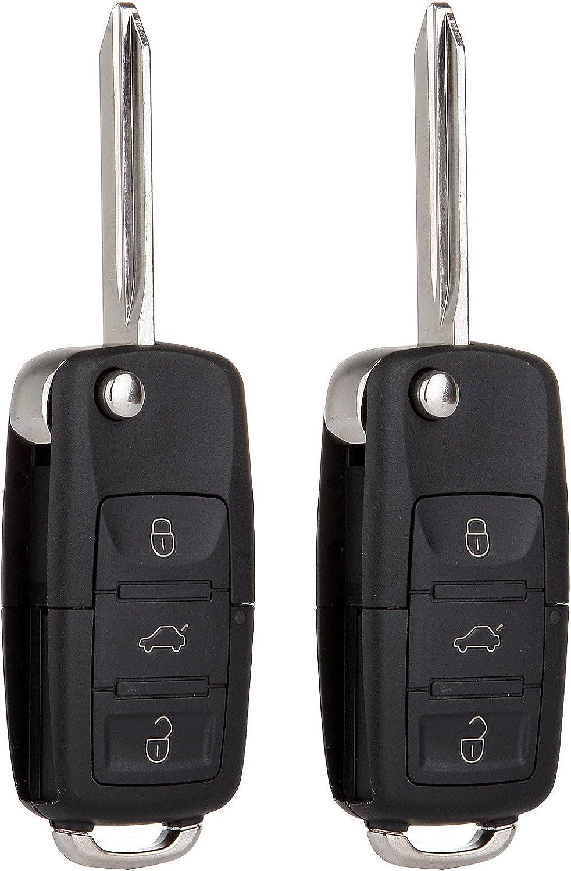 2 Car Flip Key Car Keyless Remote 4B For 2001 2002 2003 2004 2005 Ford Explorer