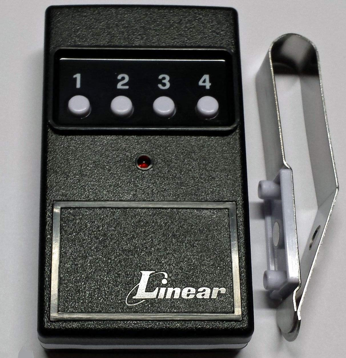 Linear Delta-3 DT4A 4 Four Button Visor Gate Garage Door Opener Remote DNT00027B