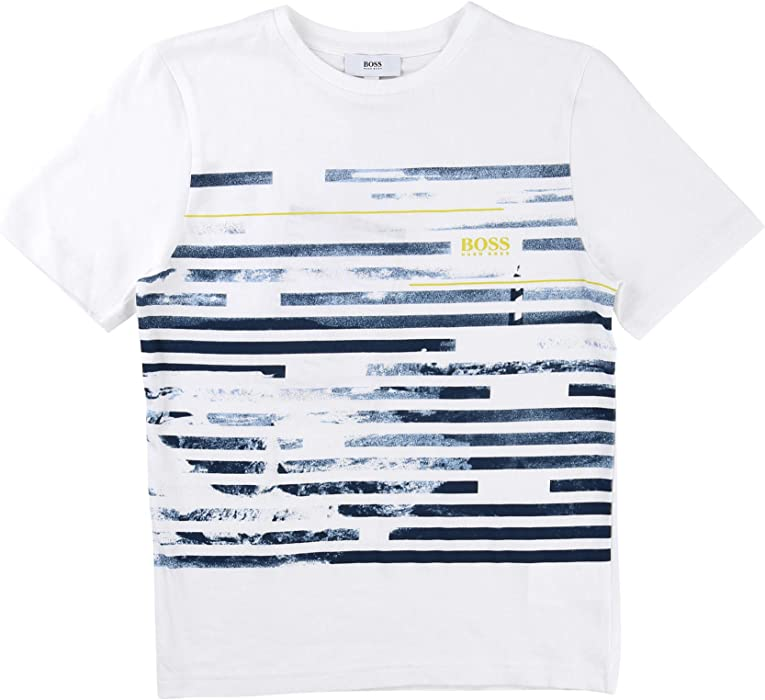 4f12f671 Amazon.com: Hugo Boss Kids Boys T-Shirt Short Sleeve 16 Years: Clothing