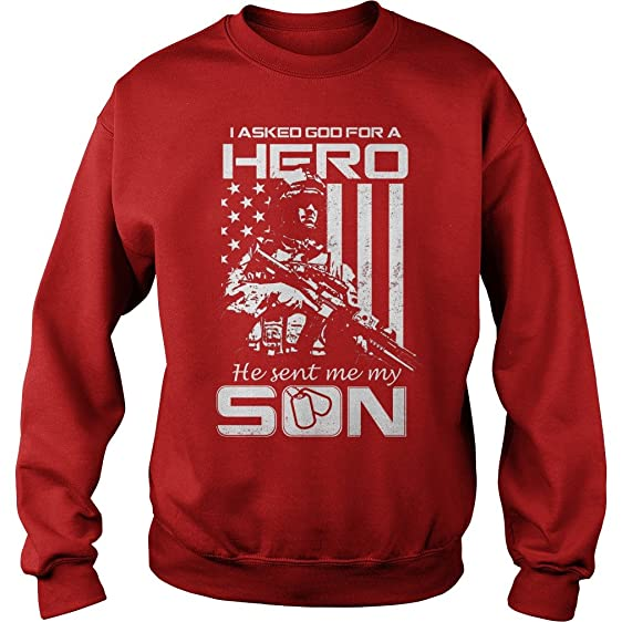 zordan i asked god for hero he sent my son ugly christmas sweater s - He Man Christmas Sweater