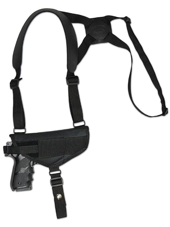 amazon barsony new cross harness gun shoulder holster for full HK Vp9sk amazon barsony new cross harness gun shoulder holster for full size 9mm 40 45 sports outdoors