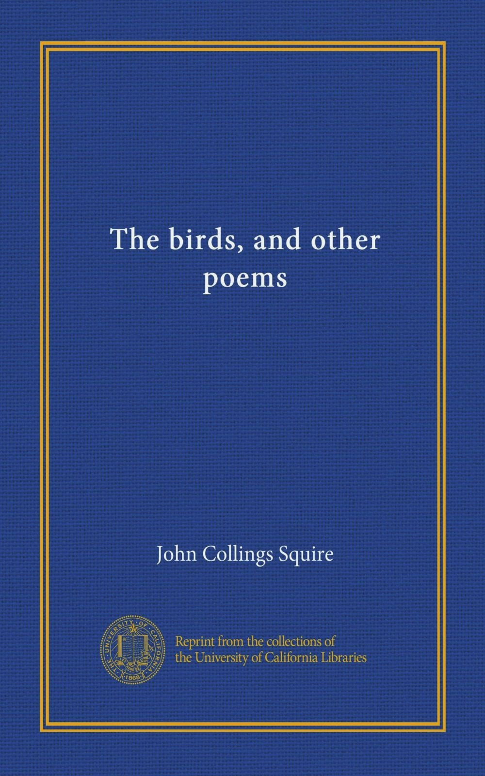 The birds, and other poems pdf