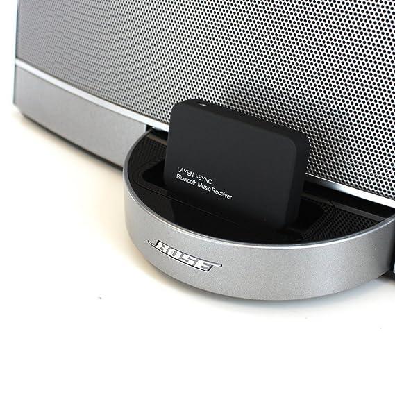 LAYEN i-SYNC Adaptador de audio inalámbrico Bluetooth Dongle para receptor de música