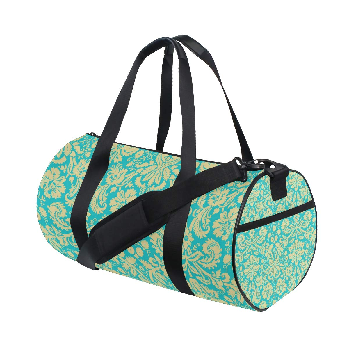 OuLian Women Gym Bag Wedding Patterns Mens Camp Duffel Bags Duffle Luggage Travel Bag