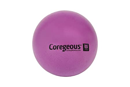 Tune Up Fitness Purple Coregeous® Therapy Ball, Yoga Tune Up, The Roll Model Method: Used For Abdominal Massage, Myofascial Release, And... by Tune Up Fitness