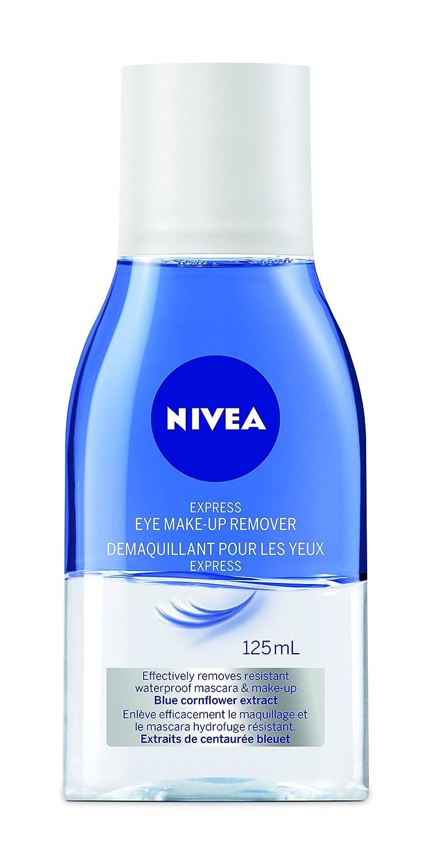 Nivea Express Eye Make Up Remover 125ml Beauty Clear 2 In 1 White Foam 100ml