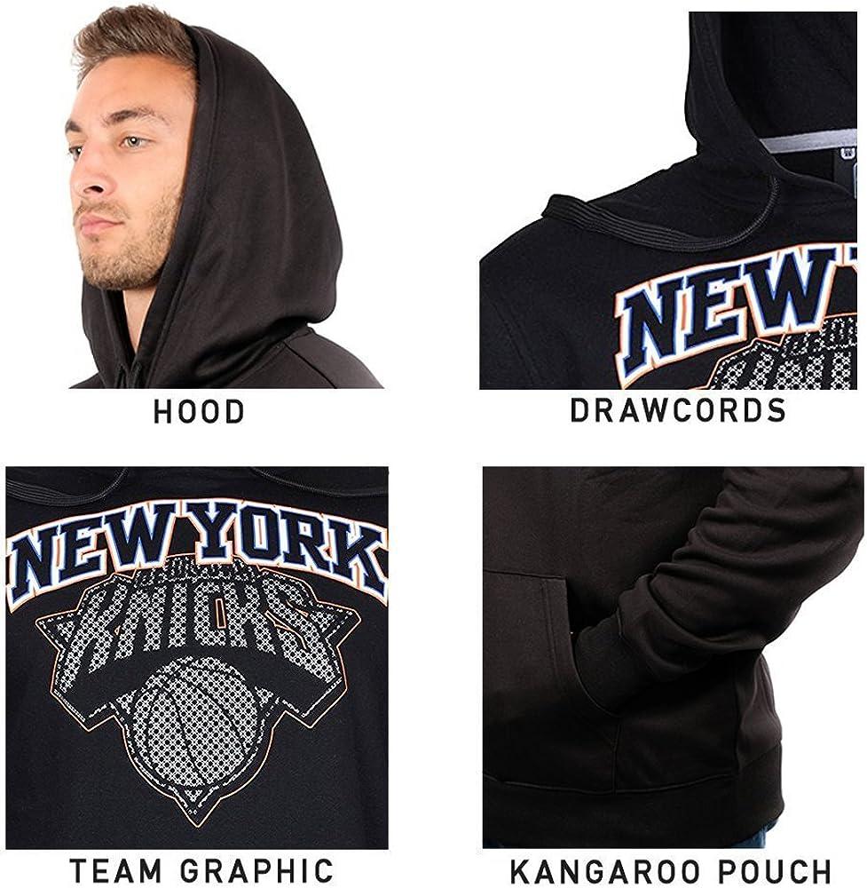 Ultra Game NBA mens Fleece Hoodie Pullover Sweatshirt Primo Metallic