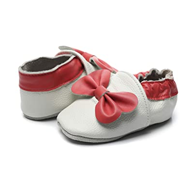 Baby Girls Boys Shoes Leather Slippers for Infant First Walkers Toddlers Bebila/ Cartoon Baby Moccasins with Soft Sole