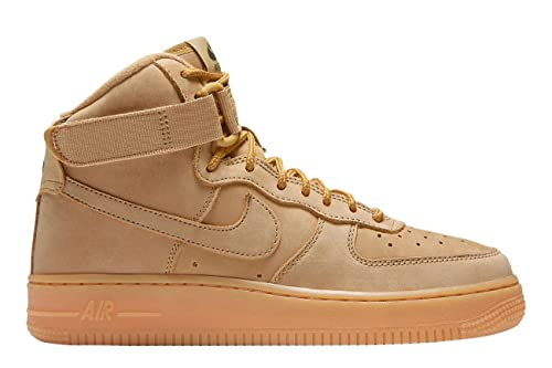 Nike - Air Force 1 High Flax GS 922066 203-922066203 - El Color: Marrón - Talla: 39.0: Amazon.es: Zapatos y complementos