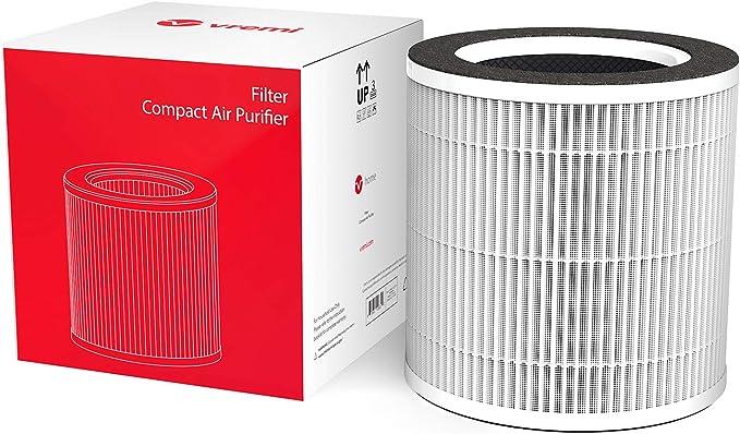 Filtro aria H13 Filtro HEPA Filtro di ricambio per Ventilatore e purificatore daria 2 in1 U ULTTY Filtro antibatterico