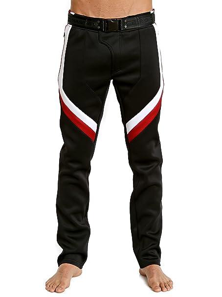 nasty pig neoprene moto pant black red white amazon ca clothing