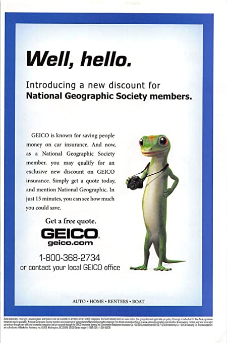 Geico Car Insurance Reviews >> Amazon Com Print Ad 2011 Geico Is Known For Saving People