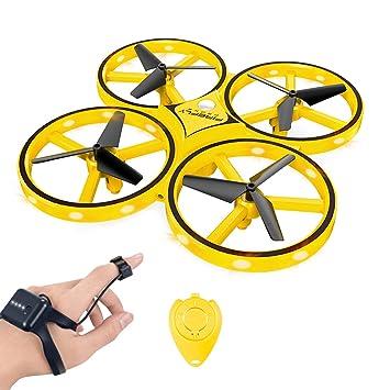 YLJYJ RC Drone para Niños, 360 ° Giratorio Mini Drone ...