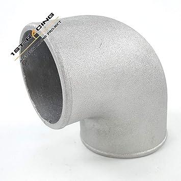 "ISPEEDY 2""-4"" Inch 90 Degree Cast Aluminum Elbow Turbo Pipe Intercooler Turbo"