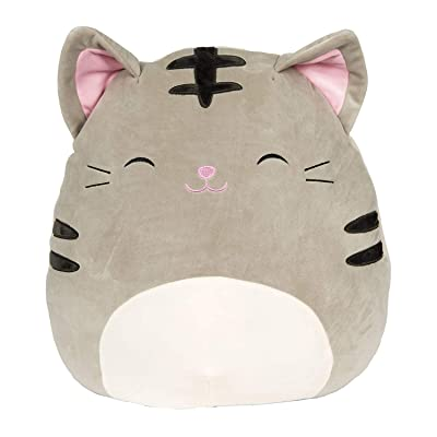 Squishmallow Tally The Cat 8 Inch Stuffed Plush Toy: Toys & Games