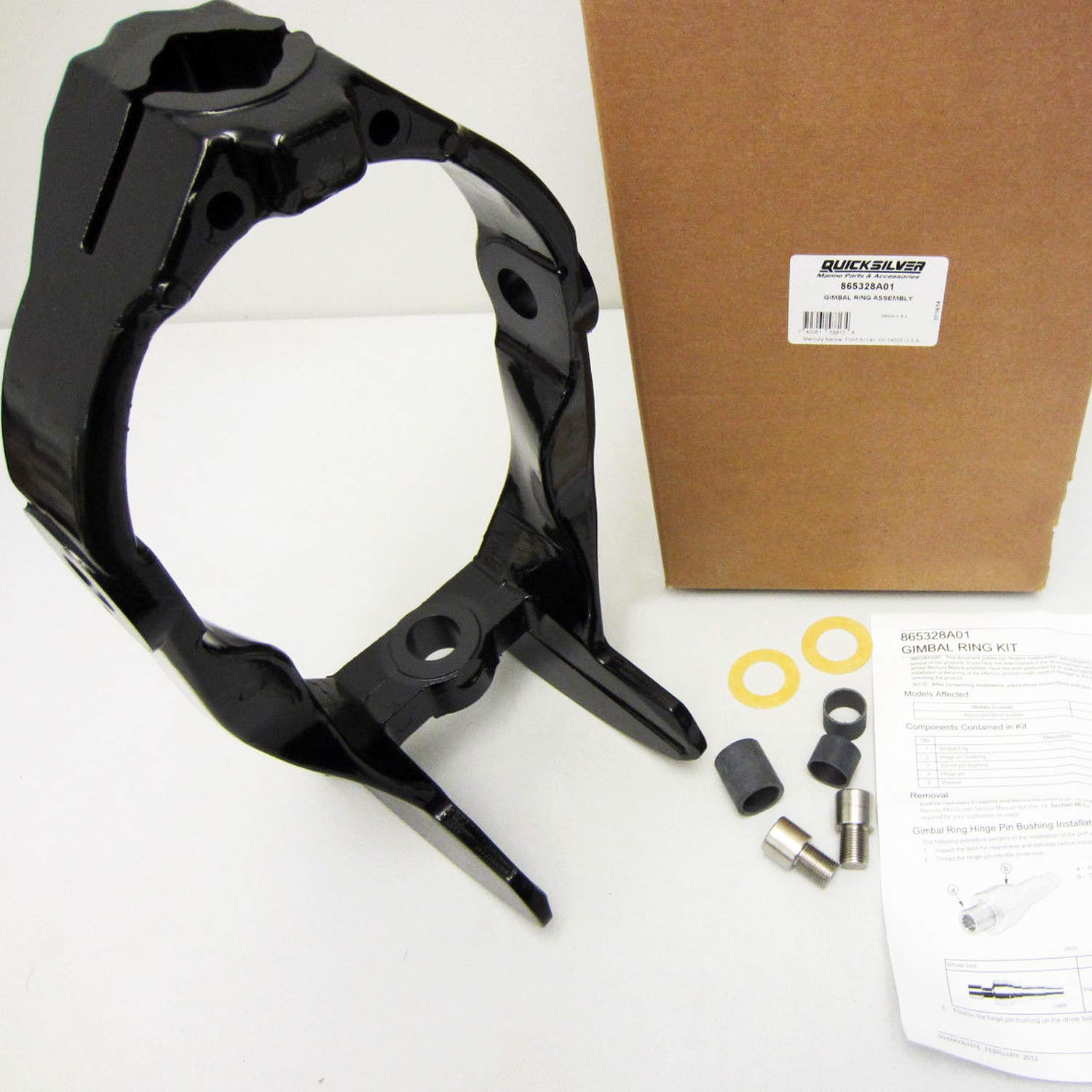 Quicksilver Gimbal Ring Assembly