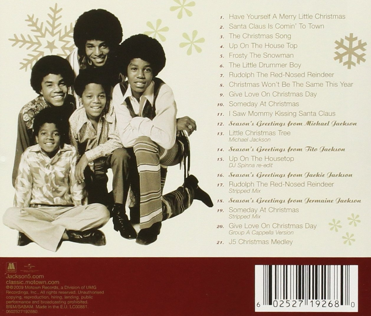 Jackson 5 - Ultimate Christmas Collection - Amazon.com Music