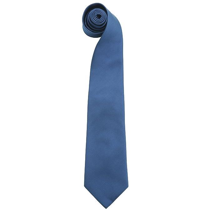 Premier - Corbata lisas colores Hombre Caballero - Trabajo ...