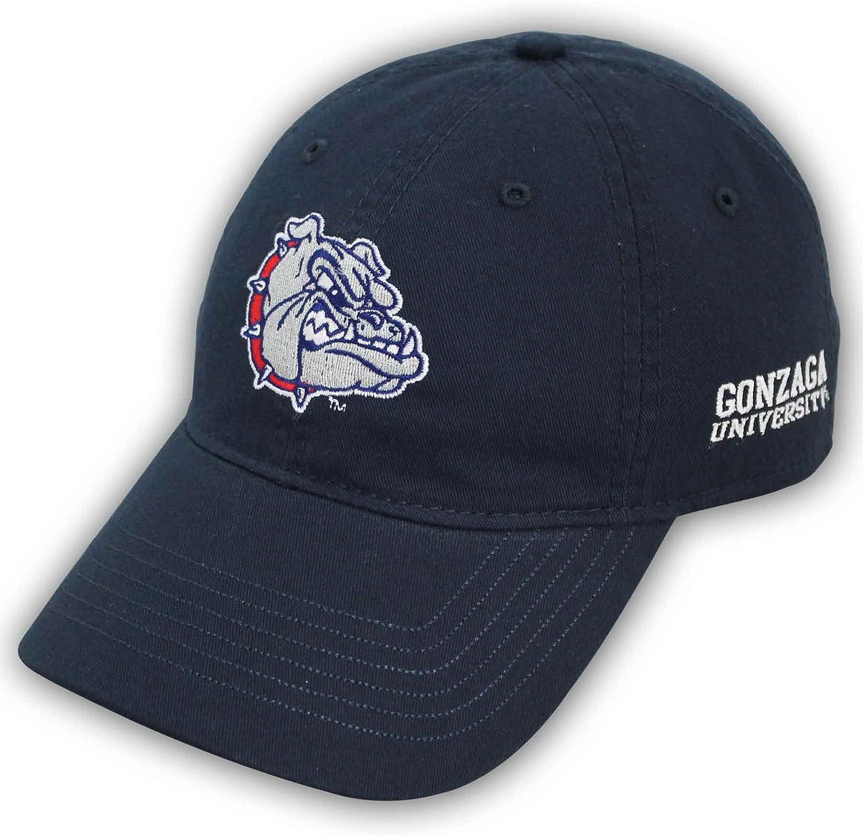 Navy Ouray Sportswear NCAA Gonzaga Bulldogs Epic Washed Twill Cap