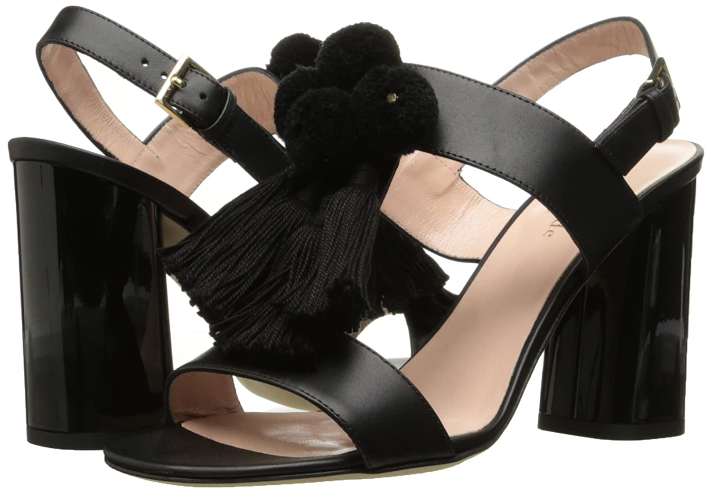 7246e3cf359f Amazon.com  Kate Spade New York Women s Central Too Heeled Sandal Black 5 M  US  Shoes