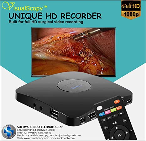 UNIQUE HD RECORDER , MEDICAL VIDEO RECORDER, SURGICAL VIDEO