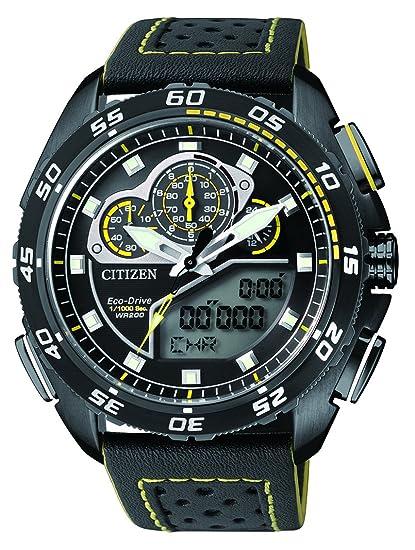Citizen Promaster Land - Reloj de Pulsera analógico - Digital Cuarzo Piel jw0125 - 00E: Amazon.es: Relojes
