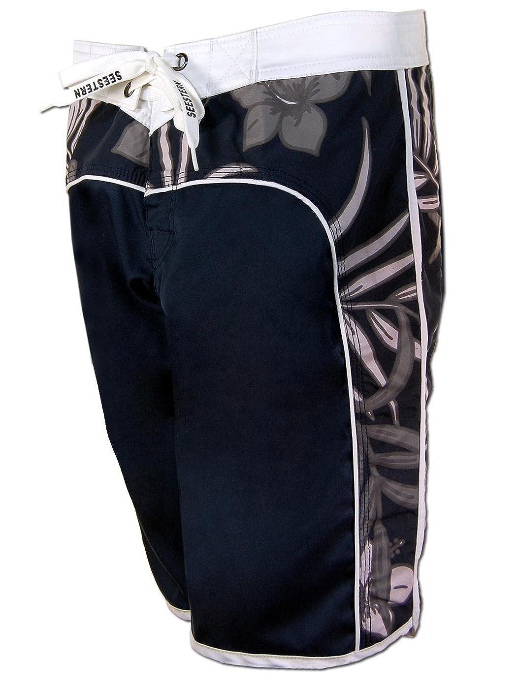 SEESTERN Damen Boardshorts Surfshorts Boardshort Surf Short Bade Shorts XS-XXL