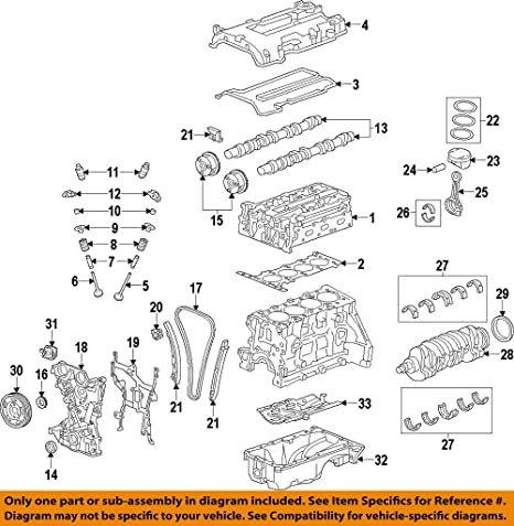 amazon com general motors 55573747, engine valve cover gasket 2000 chevy 4.3 vacuum diagram  5.3 liter chevy engine dia…