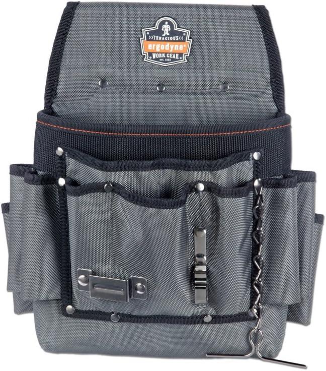 La bolsa de electricista el-1503 con 9 bolsillo Kunys EL1503