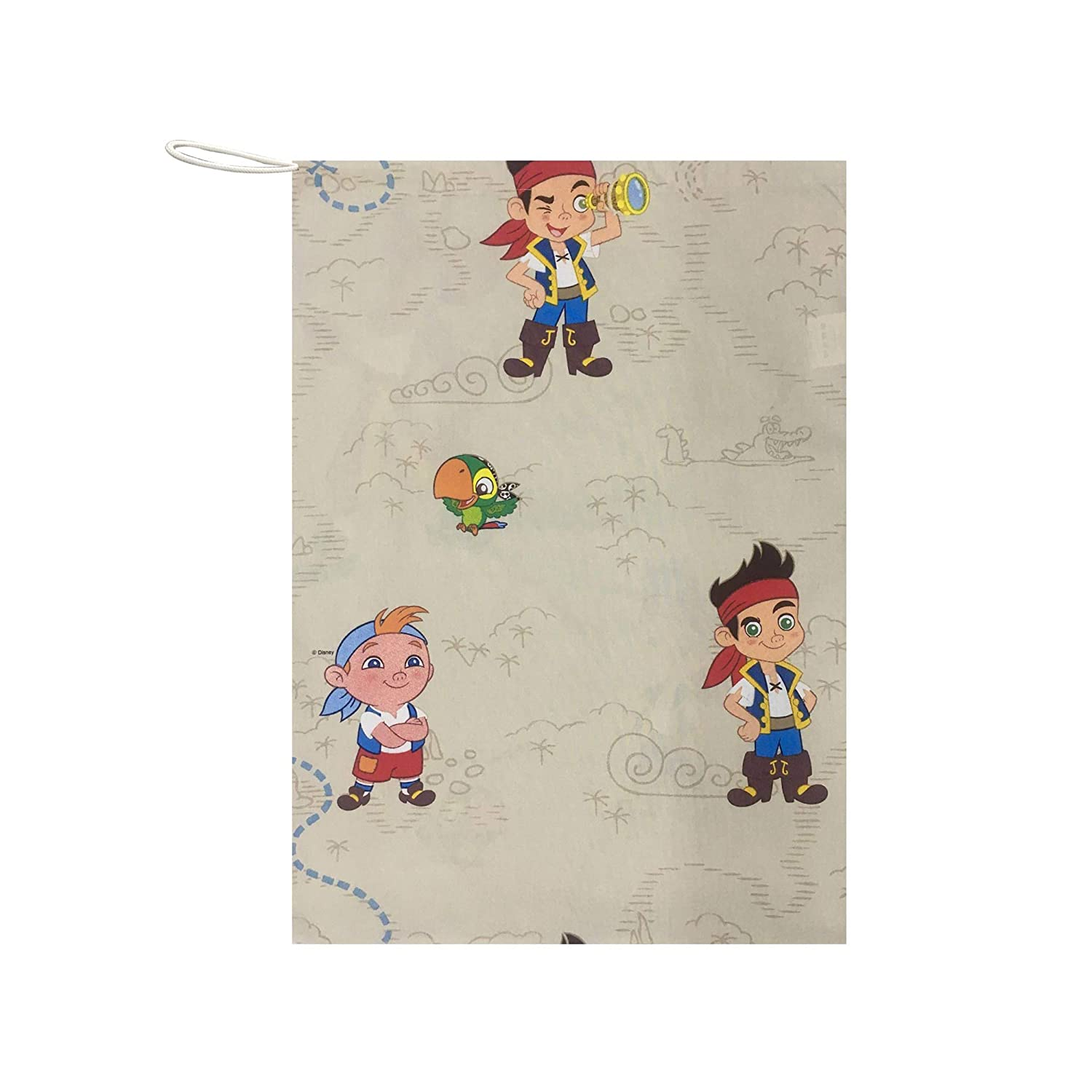 Drawstring Bag For Children Preschool 100/% Made In Italy Perfect For Containing The Nap Sack In Daycare Panini Tessuti Size 46 X 60 Cm