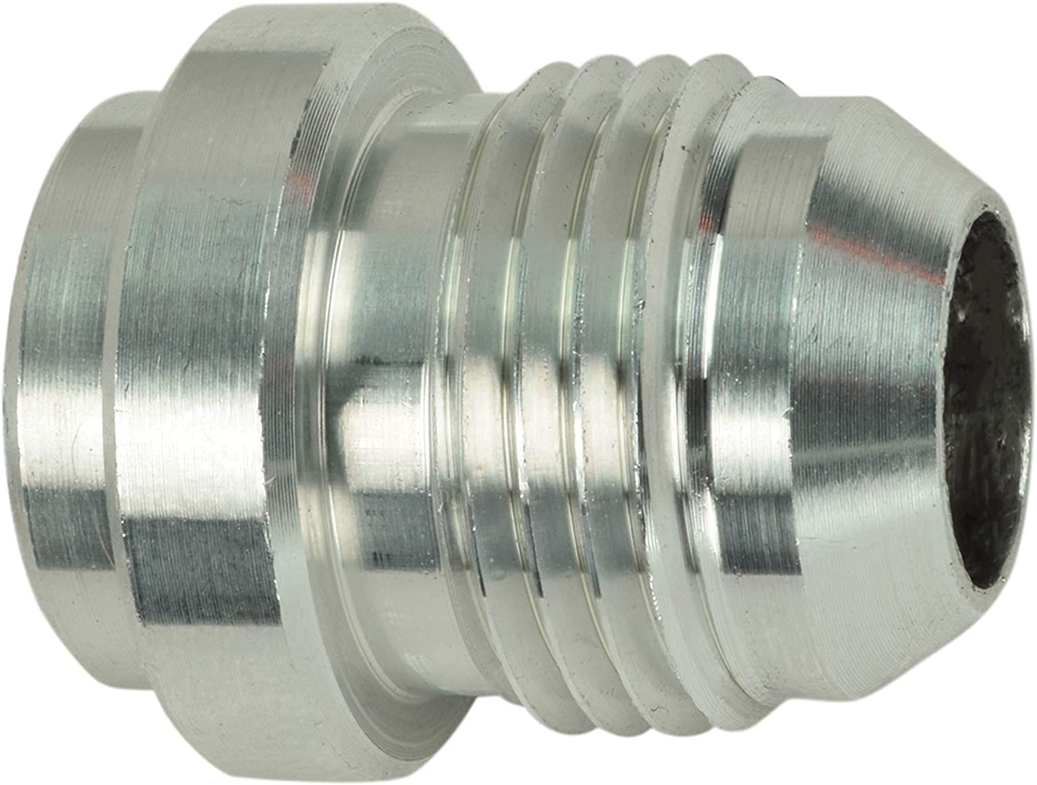 6 AN MALE ALUMINUM WELD ON FITTING BUNG MADE IN THE USA 100 pack