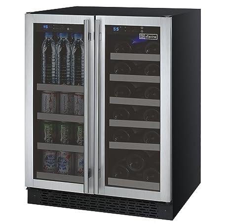 Allavino FlexCount VSWB-2SSFN Puerta francesa para refrigerador ...