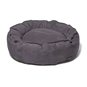 Big Shrimpy Nest Faux Suede Dog Bed