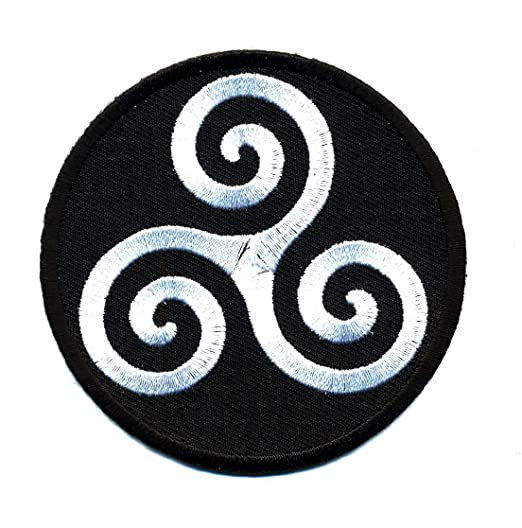 Amazon Embroidered Iron On Patch Karma Symbol 3 Patch Clothing