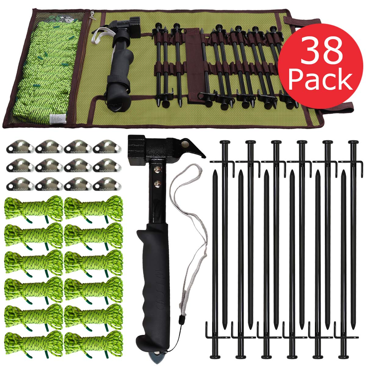 BareFour Tent Stakes Available in Rocky Place Dessert Snowfield and Grassland Tent Accessories Kit Heavy Duty Camping Stakes 12-Inch//8-Inch- Forged Steel Tent Pegs Unbreakable and Inflexible