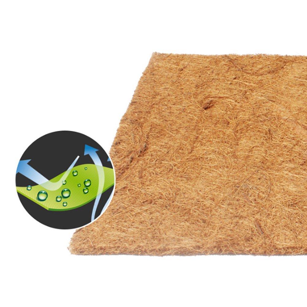 Ocamo 60x40CM Pet Natural Coconut Mat Reptile Box Breathable Bedding Line for Turtles, Reptilia and Small Animals by Ocamo (Image #3)