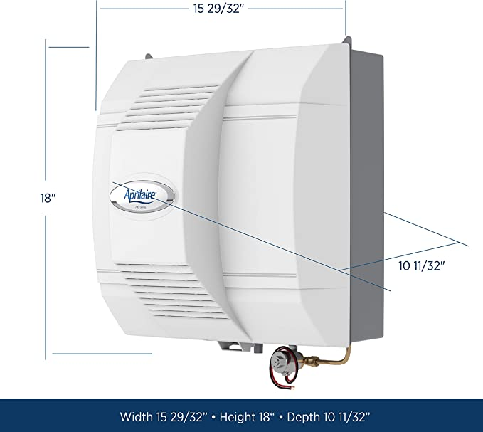 Aprilaire 700 Whole House Fan Powered Humidifier, Automatic High Output Furnace Humidifier