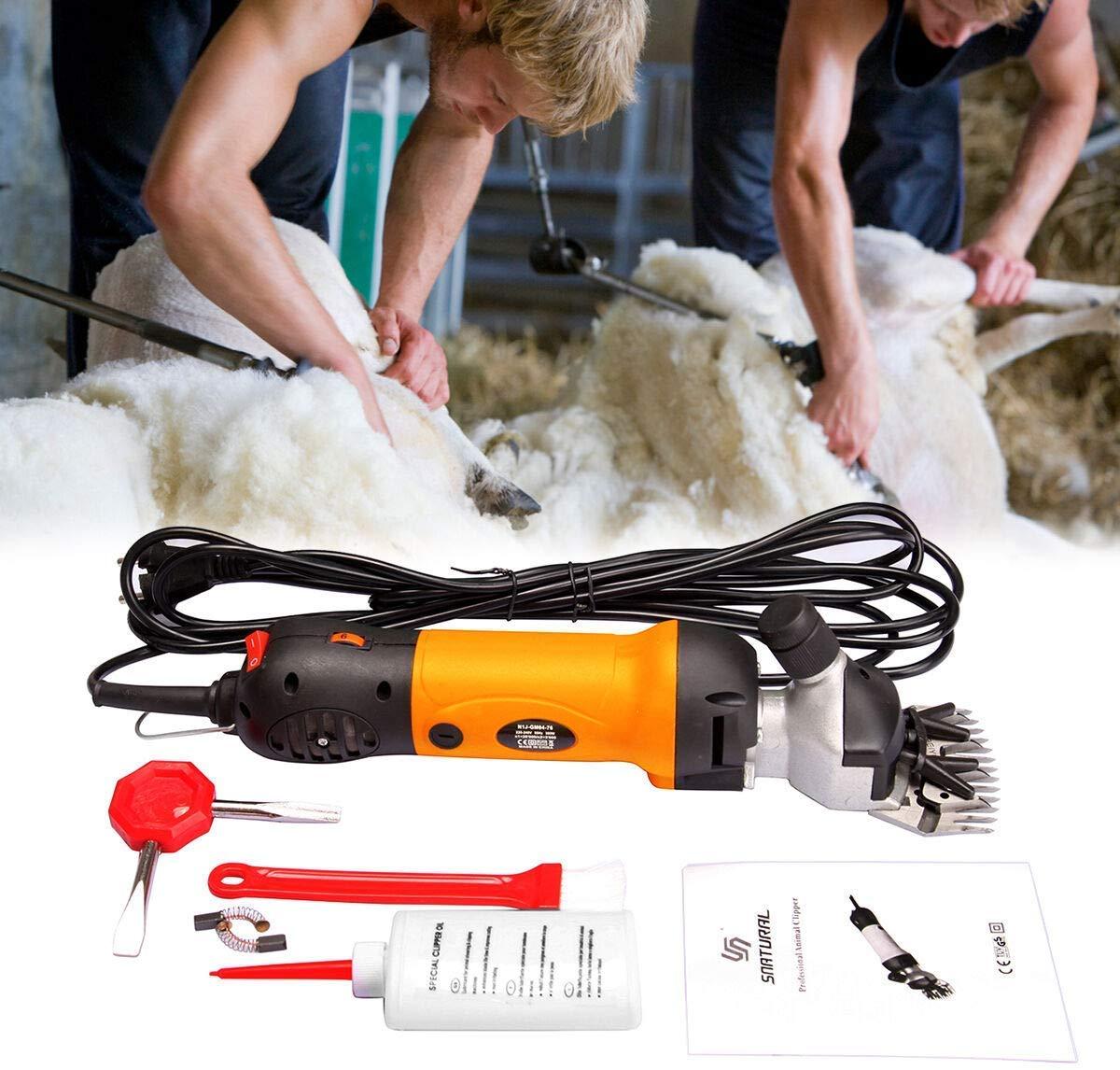 Ridgeyard 380W Electric Farm Supplies Animal Grooming Shearing Clipper Sheep Goat Shears Electric Clippers, Farm Supplier (380w) by Ridgeyard