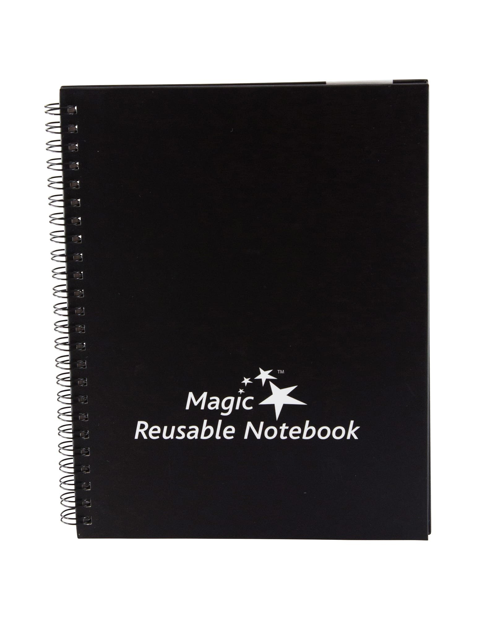 THE ORIGINAL Magic Whiteboard Products Magic Dry Erase Notebook LARGE 8.5''x11.75'' (Pack of 9) (MW1440)