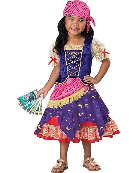 Darling Gypsy Toddler Costume - Toddler X-Small  sc 1 st  Amazon.com & Amazon.com: InCharacter Darling Gypsy Esmeralda Fortune Teller ...