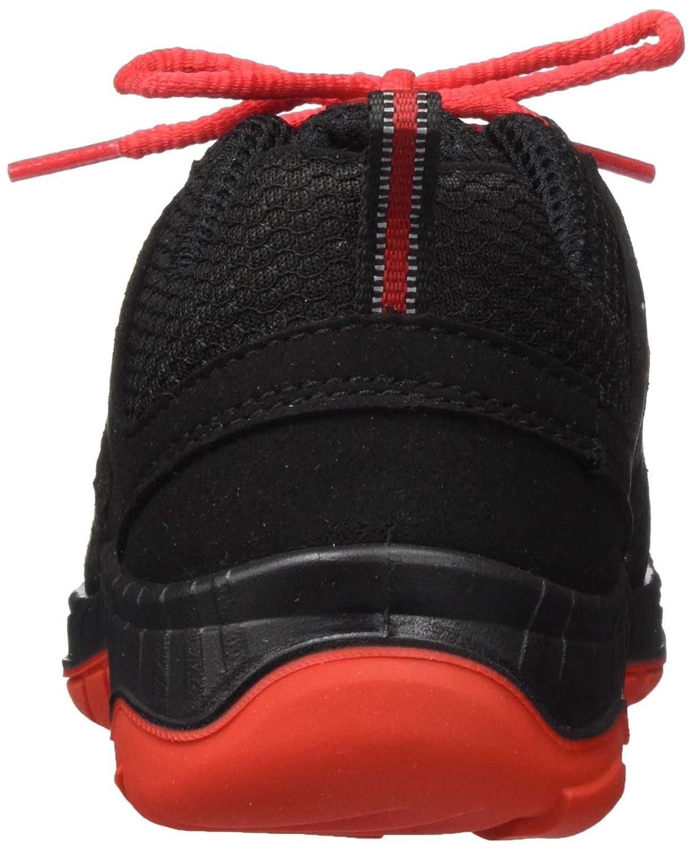 ELTEN Sicherheitsschuhe MADDOX Black-Red Low S3 schwarz//rot sportlich Stahlkappe leicht Herren